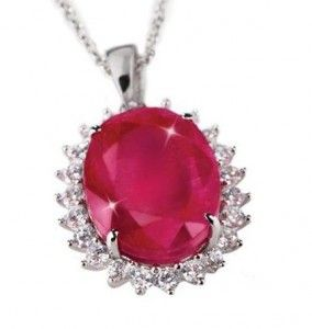 ruby pendant $99 with coupon
