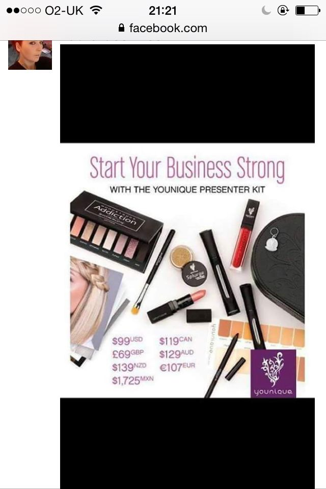 Buy her her own business and a case full of makeup for £69#shellloveyou#amazing#itwontdie#shellearnmoney#makeup#skincare#younique
