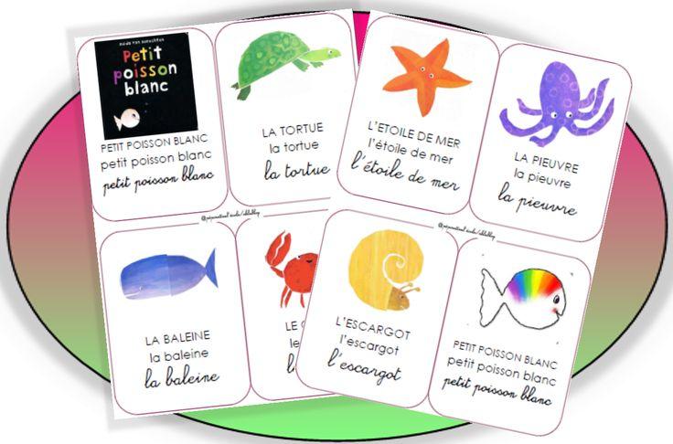 Petit Poisson Blanc - Pépinette à l'ecole Marottes de l'histoire +++