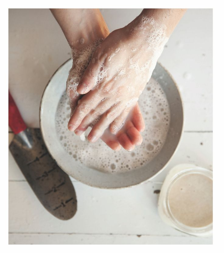Make: Homemade gardener's hand scrub | The Simple Things