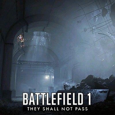 Battlefield 1 - Fort de Vaux https://www.artstation.com/p/DKzRE Oscar Johansson 3D Artist at EA DICE -- Share via Artstation Android App, Artstation © 2017
