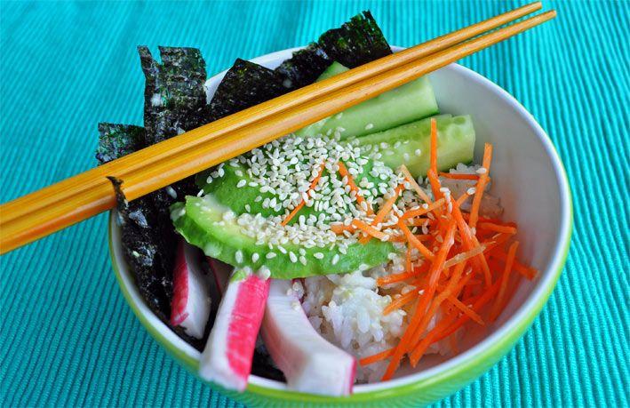 FOODIES: Sushi & Sushi bowl