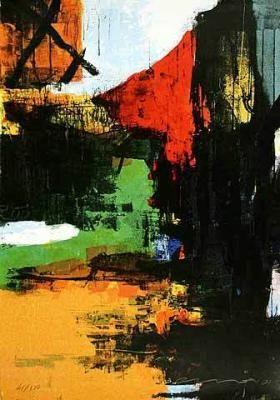 Walk on II, 2001 - by Sergej Sviatchenko (1952), Ukrainian