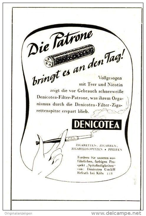 Original-Werbung/Inserat/ Anzeige 1953 - DENICOTEA - ca. 80 X 100 mm