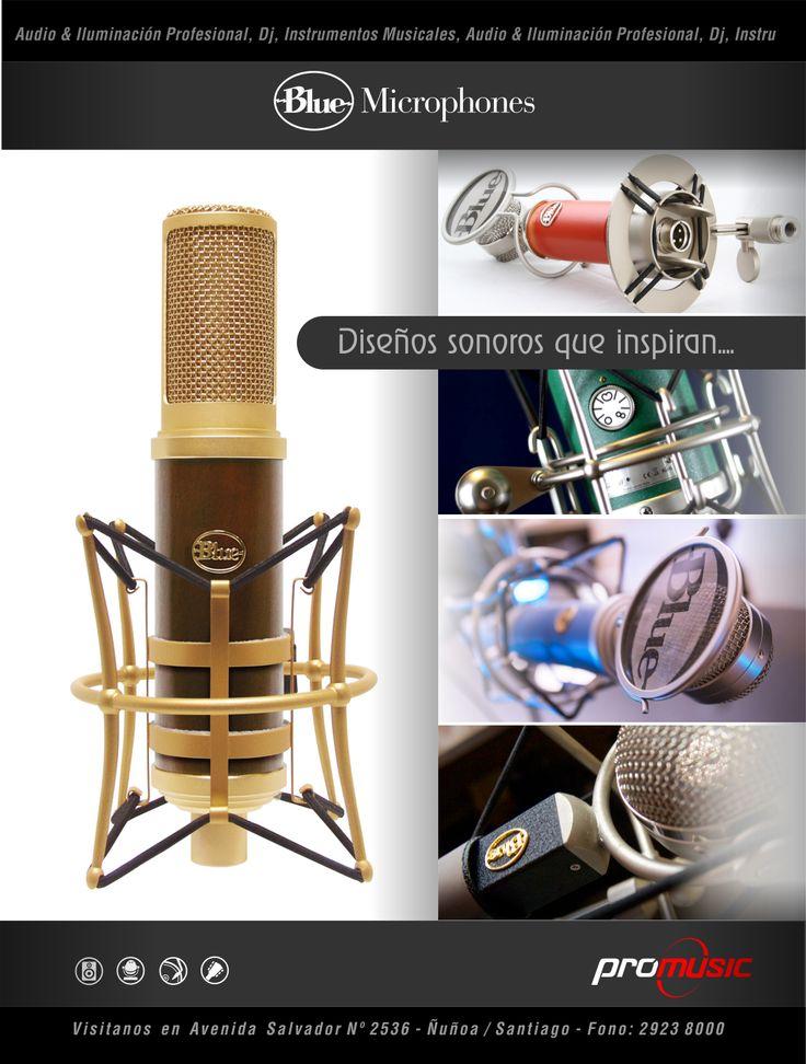 #bluemics #microfonos #promusic