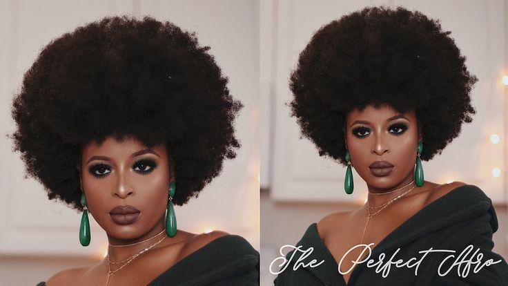 My AFRO tutorial (NO SHRINKAGE)   4C Natural Hair