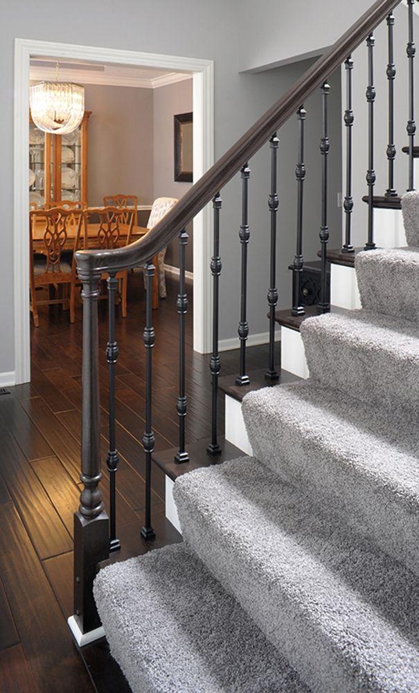 Merveilleux Iron Stairways Systems | LJ Smith Stair Systems