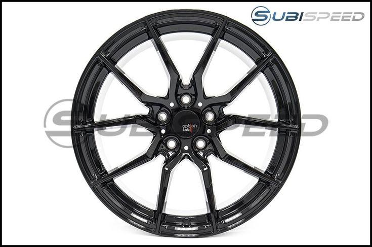 Option Lab R716 Wheels 18x9.5 +35 Gotham Black Wheels