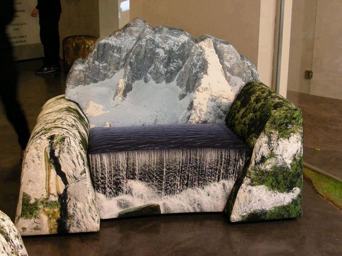 Mountain Couch Takes You Into The Hills :))