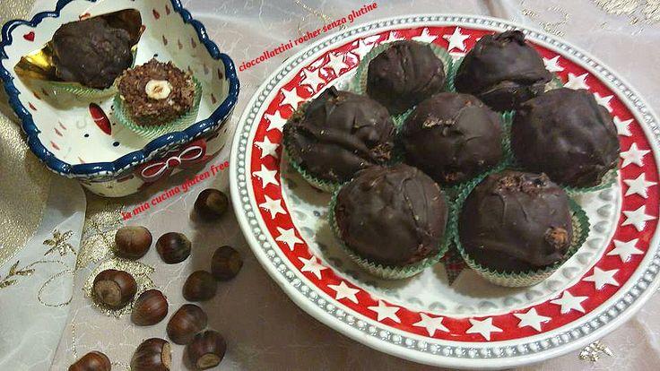 Cioccolatini rocher senza glutine
