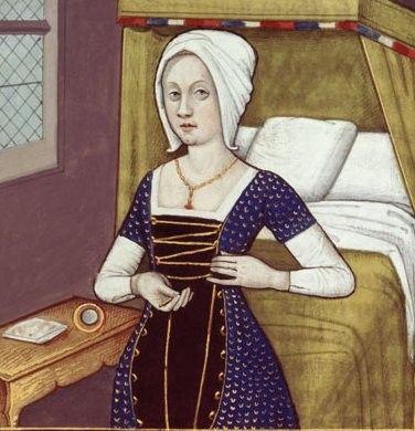 Au XIIIe et XIVe siècle les vêtements féminins et masculins finissent par se distinguer. L'art gothique prend racine en France et devient international. La minceur et la verticalité que l'on remarque dans l'architecture se retrouve aussi au niveau du costume.