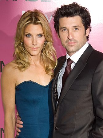 Patrick Dempsey's wife files for divorce :/