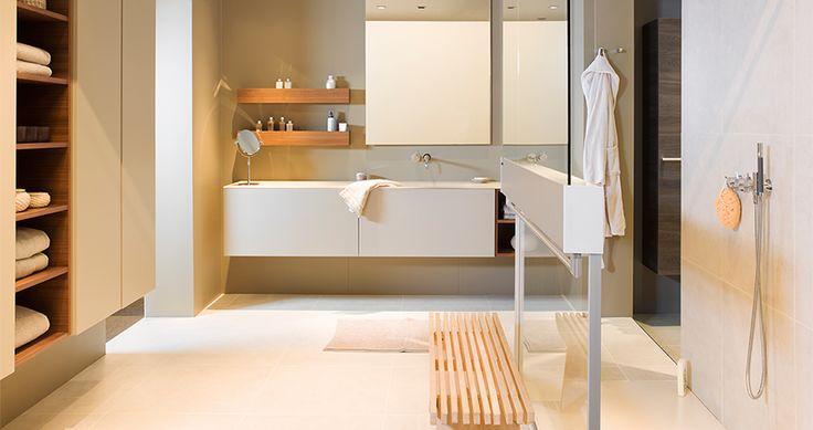 Moderne badkamer Line