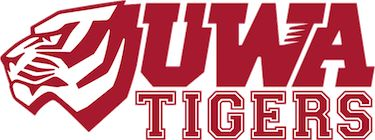 Tigers, University of West Alabama (Livingston, Alabama) Div II, Gulf South Conference #Tigers #Livingston #NCAA (L8312)