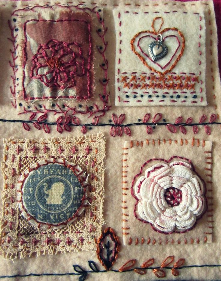 quilt sampler by Beth Leintz