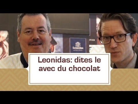 [VIDEO] Léonidas: dites le avec du chocolat