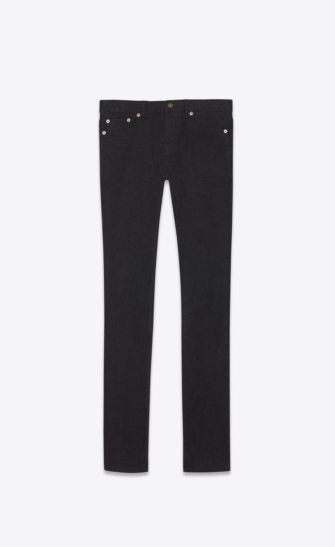 35a371d76a Saint Laurent skinny jeans in used Black stretch | Dream Closet in ...