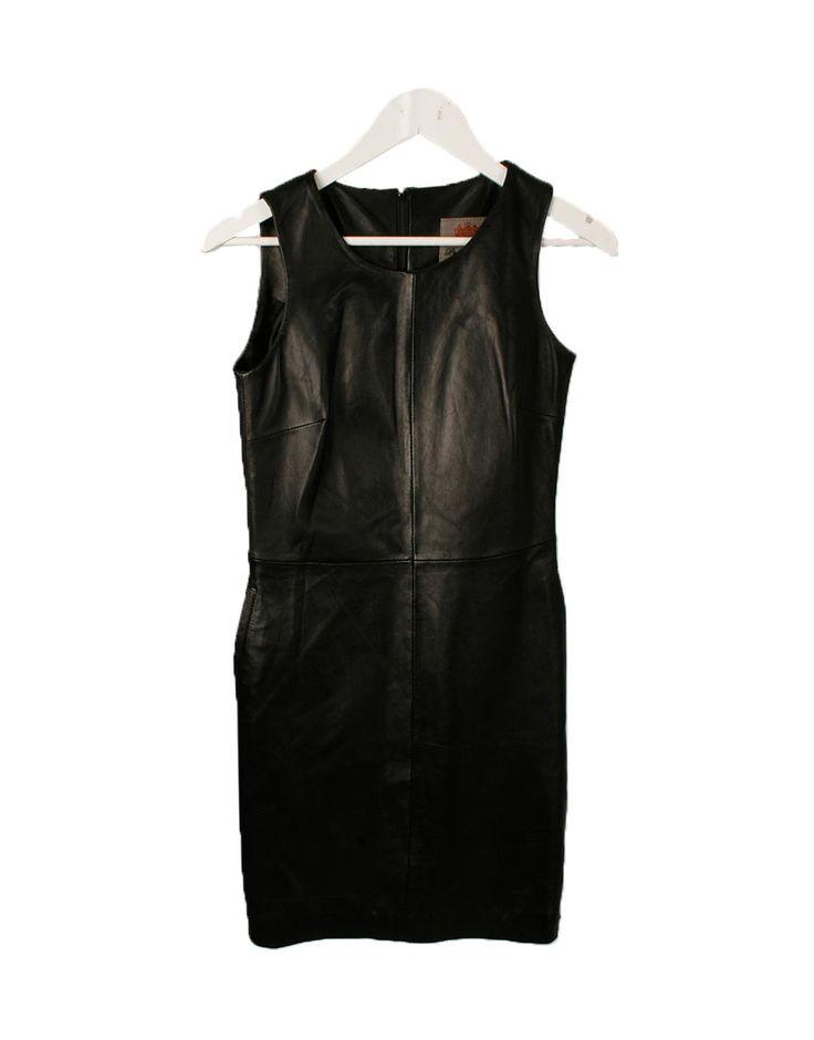 Vestido negro piel Pepe Jeans 155€