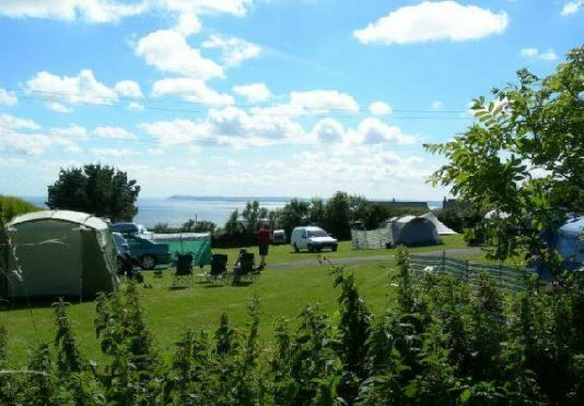 Polruan Holidays Camping & Caravanning Polruan, Fowey, Cornwall, UK, England. Campsite. Camping. Travel. Holiday. Outdoors. Walking. Cycling. Beach Nearby. Pets Welcome.