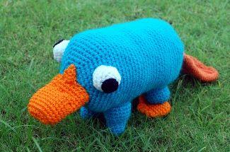 Plushie Pet Platypus Free Crochet Pattern - Inner Child Crochet. Remembering RIT Summer Internship!