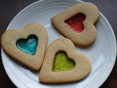 How to Make Heart Biscuits with a Glass Effect Centre - Possible Biscuit/Cookie #Wedding Favours?