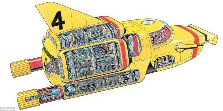Thunderbird 4 by Graham Bleathman