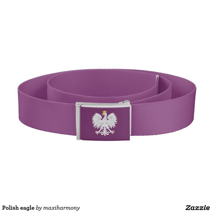 Polish eagle belt
