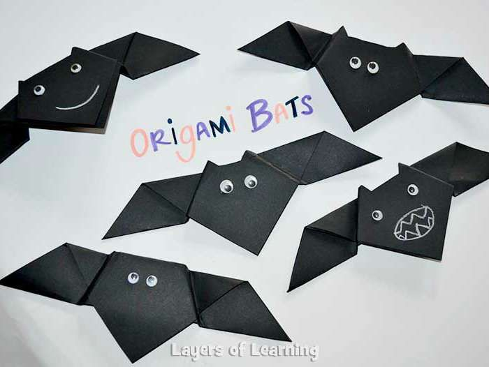halloween origami for kids - Easy Halloween Decorations For Kids