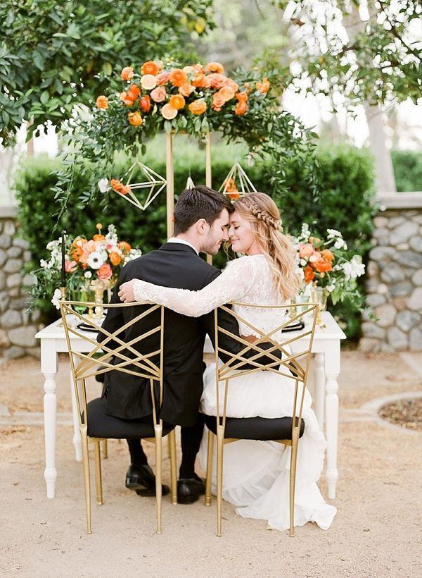 Citrus inspired wedding    #wedding #weddingideas #aislesociety #cake #weddingcake #citrus