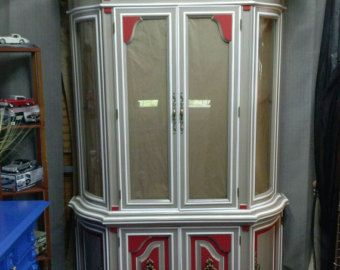 SOLD CUSTOM FINISH for Anh  Antique Jacobean Hand Painted