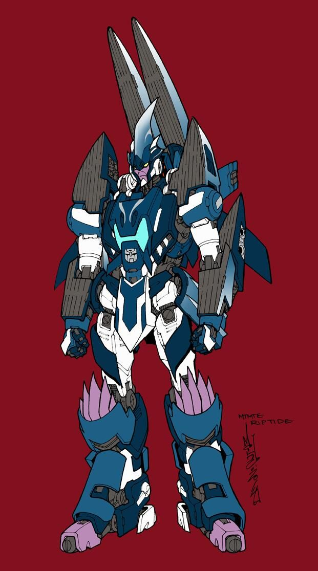 Transformers News: IDW Transformers: More Than Meets the Eye - Alex Milne Riptide Concept Art