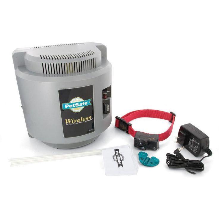 NEW PetSafe 1/2 Acre Radius Wireless Pet Containment ...