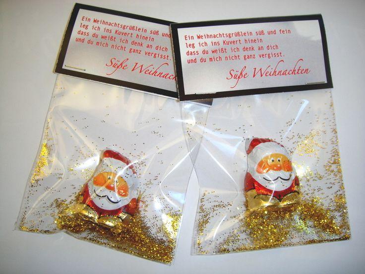 Kleines Geschenk oder kleines Geschenk senden oder senden …   – Adventskalender Deko