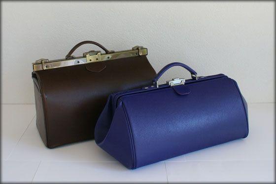dokterstas op maat - custom made doctors bag, by Tassenmakerij van Ziel, Soest (NL). She makes new bags as well as restores your favourite leather bags.