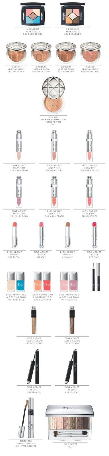 MacKarrie Beauty-Style Blog: Dior Milky Dots Summer 2016
