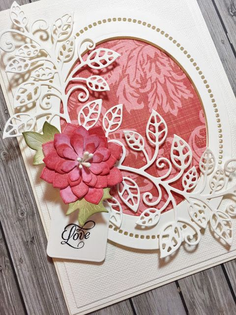 Hello friends  This week's Friday Die Day is Mosaic Vine . A die set from the Thoughtful Expressions collection by Marisa Job .  ...