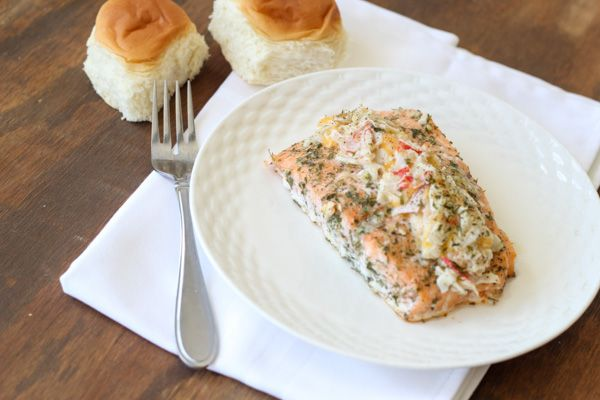 Stuffed Salmon on Pinterest | Stuffed Salmon, Salmon and Roasted