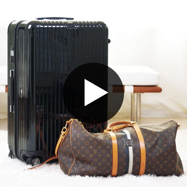 how to pack toiletries in a suitcase