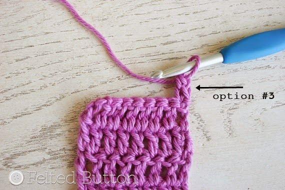 autre fa on de d buter un rang de brides sans 39 trou 39 crochet astuces tutos pinterest. Black Bedroom Furniture Sets. Home Design Ideas