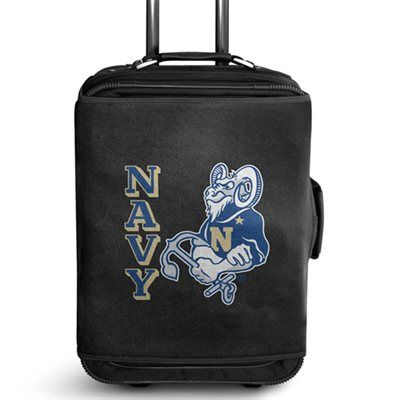 Navy Midshipmen Large Luggage Jersey - Black    Fanatics.com is the largest online retailer of officially licensed sports merchandise with over 250,000 unique items across all professional and collegiate leagues and teams.