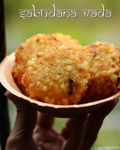 Sabudana vada / Sago tikkis . Indian Navratri festival vrat ka khana!