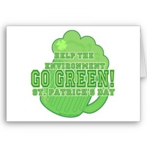 How to go green on St. Patrick's Day - in more ways than one!: Green, St. Patrick'S Day, St Patrick'S Day