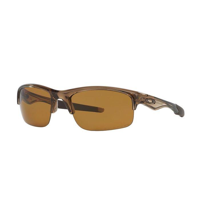Oakley Bottle Rocket OO9164 62mm Wrap Polarized Sunglasses, Men's, Brown