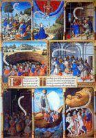 Une exposition virtuelle de la BnF  L'exposition présente les antécédents de la bande dessinée dans les enluminures du Moyen-Âge et explore, dans un dossier, cinq thèmes différents .