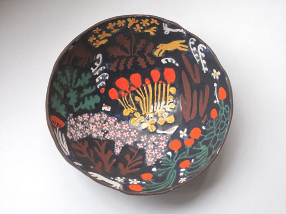 Alain-Fournier's Le Grand Meaulnes-inspired bowl by Laura Carlin