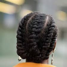 Image result for flat twist cornrows