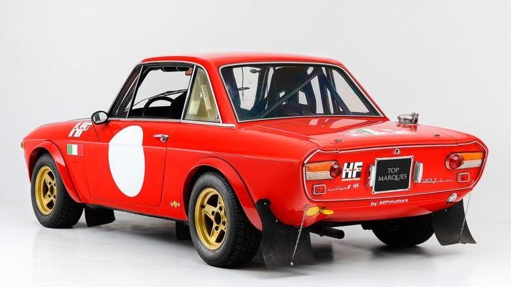 "1970 Lancia Fulvia - HF 1600 ""Fanalona"" Gr. 4   Classic Driver Market"