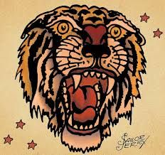 sailor jerry tiger - Google Search