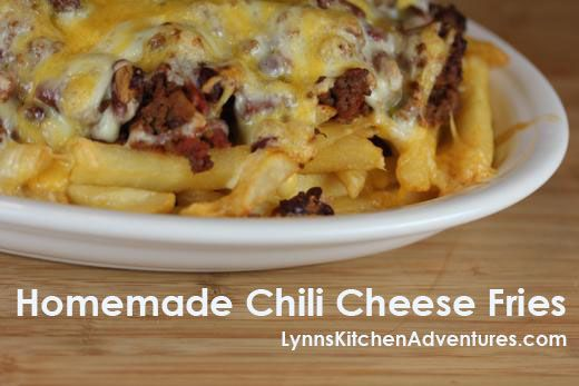 Homemade Chili Cheese Fries- Easy and delicious to make at home!