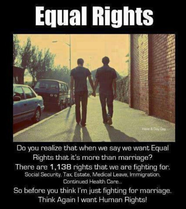 equal marriage rights The proposed equal rights amendment (era) on the equal rights amendment is in the based on sexual orientation and the issue of same-sex marriage.
